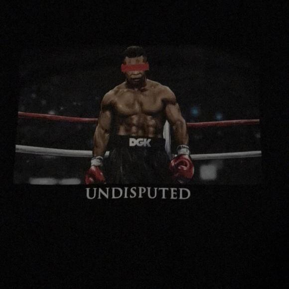 Dgk Shirts Mens Black Mike Tyson Undisputed Tshirt Poshmark